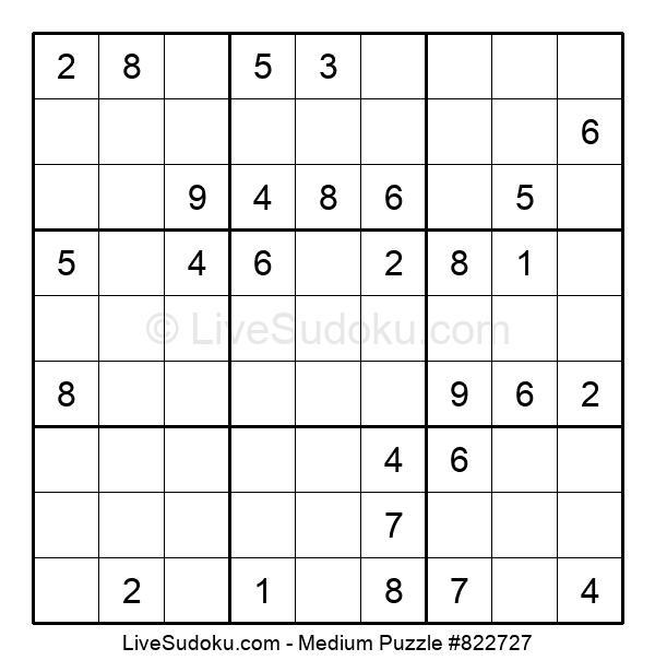 Medium Puzzle #822727