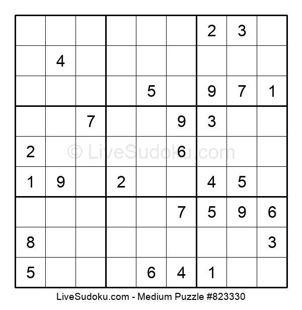 Medium Puzzle #823330