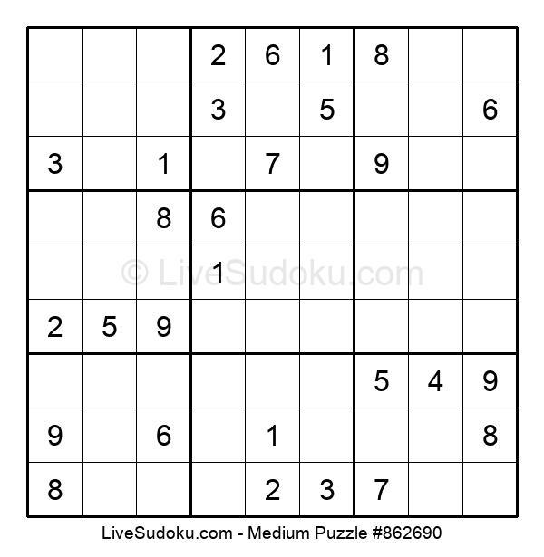 Medium Puzzle #862690