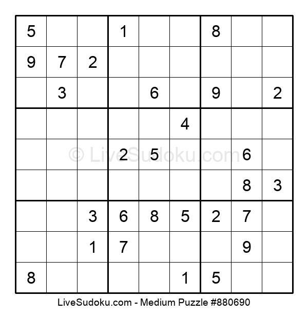 Medium Puzzle #880690