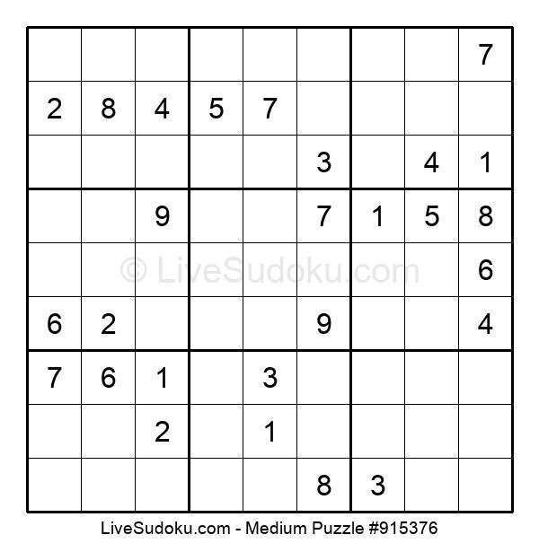 Medium Puzzle #915376