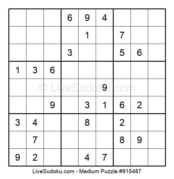 Puzzle nivel medio nº 915487