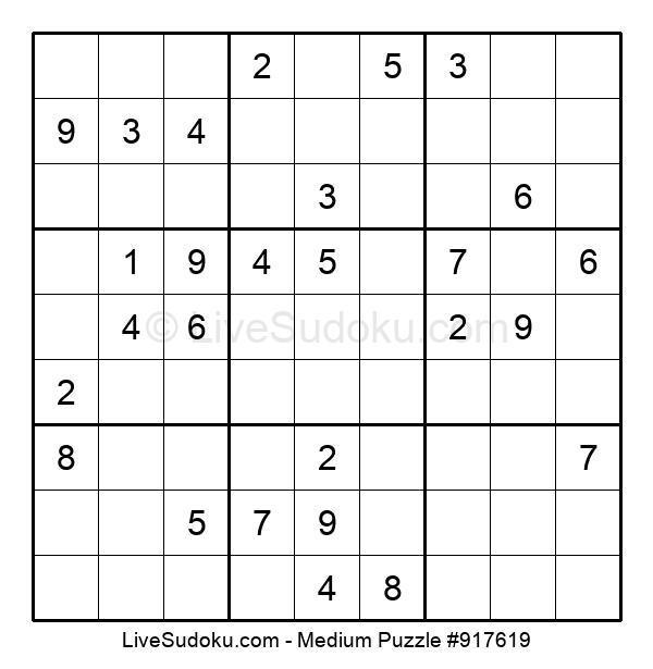 Medium Puzzle #917619