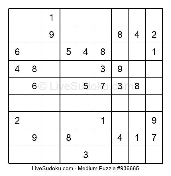 Medium Puzzle #936665
