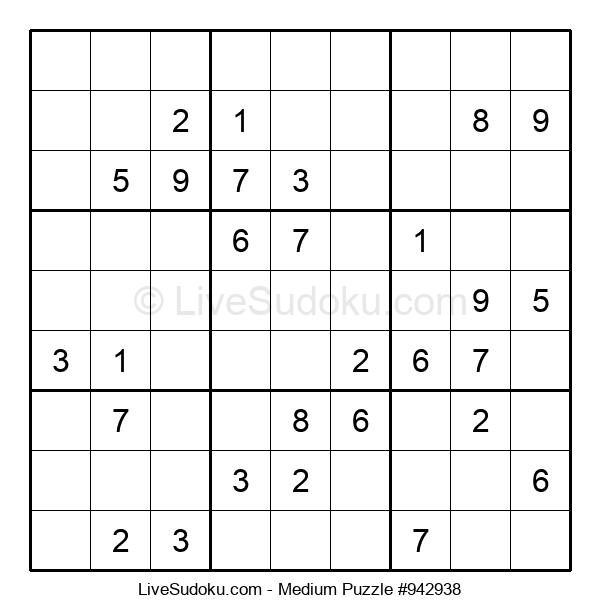 Medium Puzzle #942938
