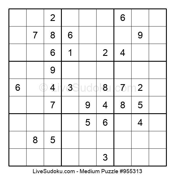 Medium Puzzle #955313