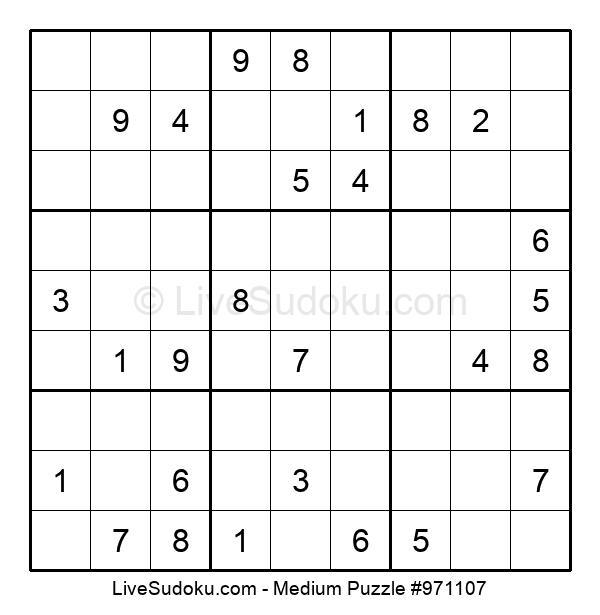 Medium Puzzle #971107