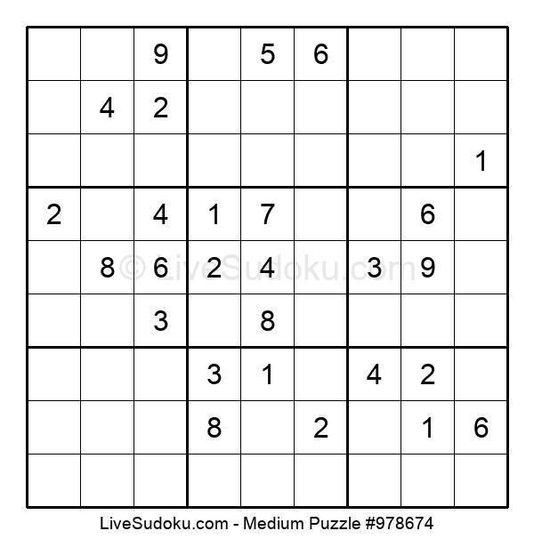 Medium Puzzle #978674