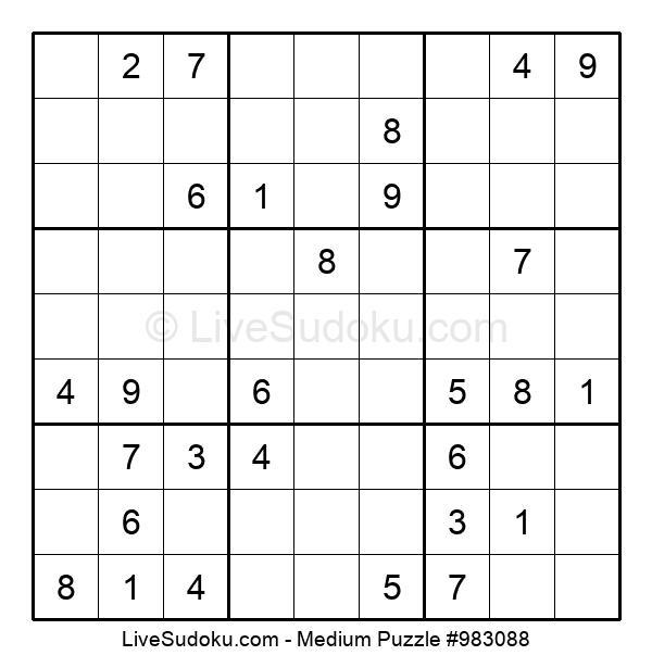 Medium Puzzle #983088
