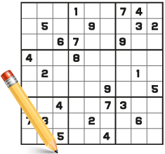 Single player Sudoku puzzle