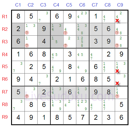 Sudoku Swordfish Tutorial