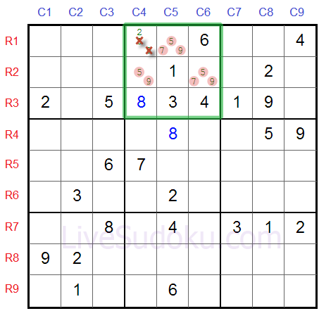 Sudoku Naked Triples