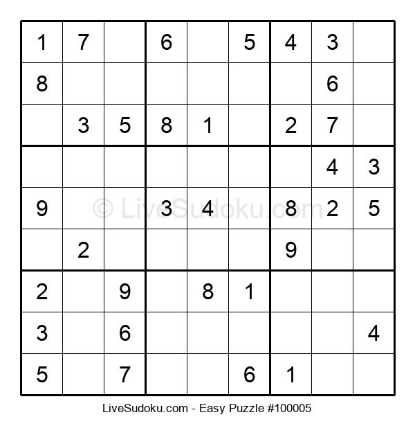 Beginners Puzzle #100005
