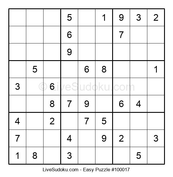 Beginners Puzzle #100017