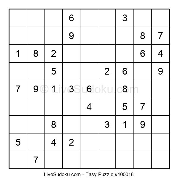 Beginners Puzzle #100018