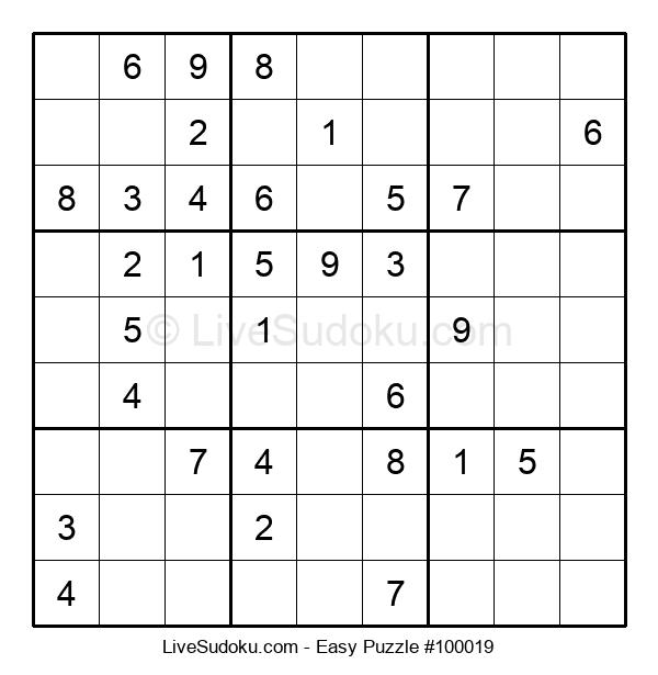 Beginners Puzzle #100019