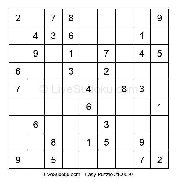 Beginners Puzzle #100020