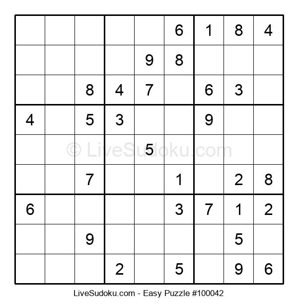 Beginners Puzzle #100042