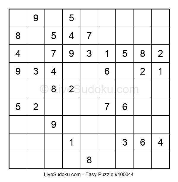 Beginners Puzzle #100044