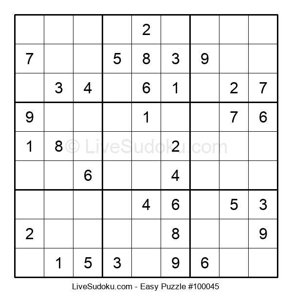 Beginners Puzzle #100045