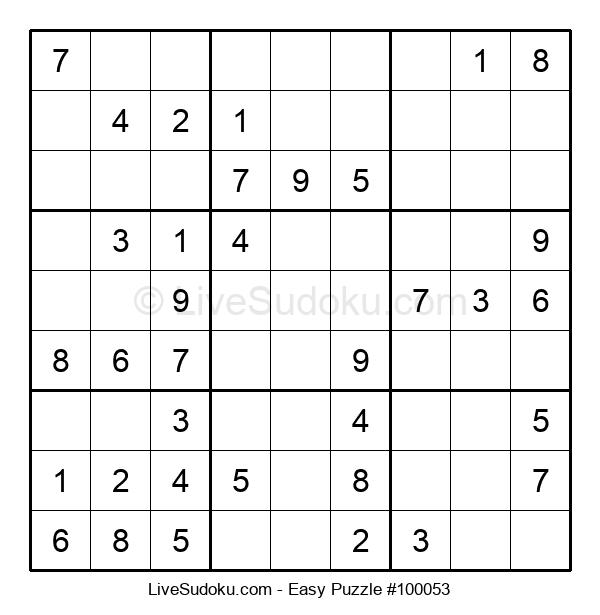 Beginners Puzzle #100053