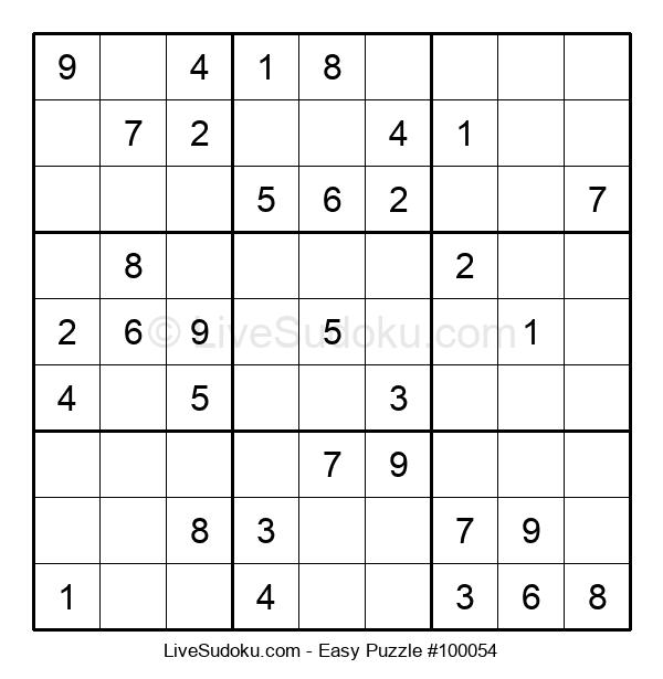 Beginners Puzzle #100054