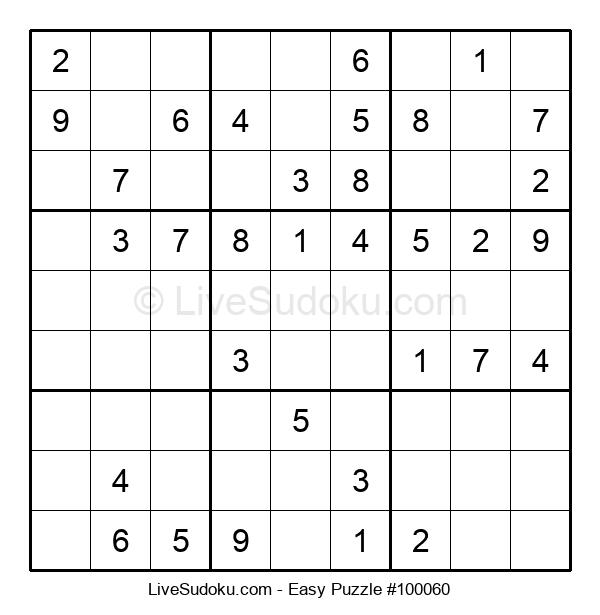 Beginners Puzzle #100060