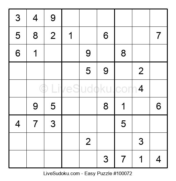 Beginners Puzzle #100072