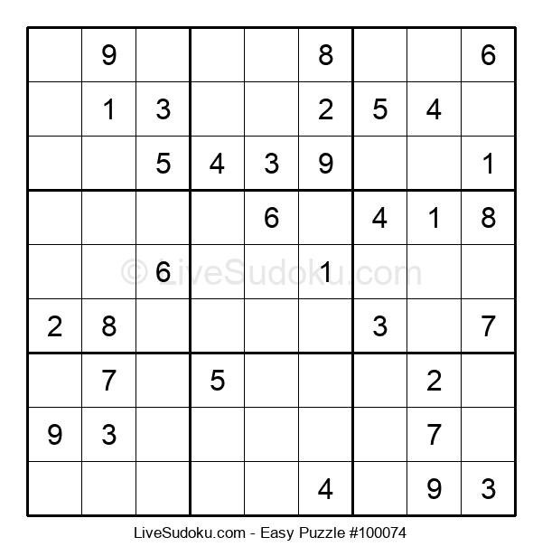 Beginners Puzzle #100074