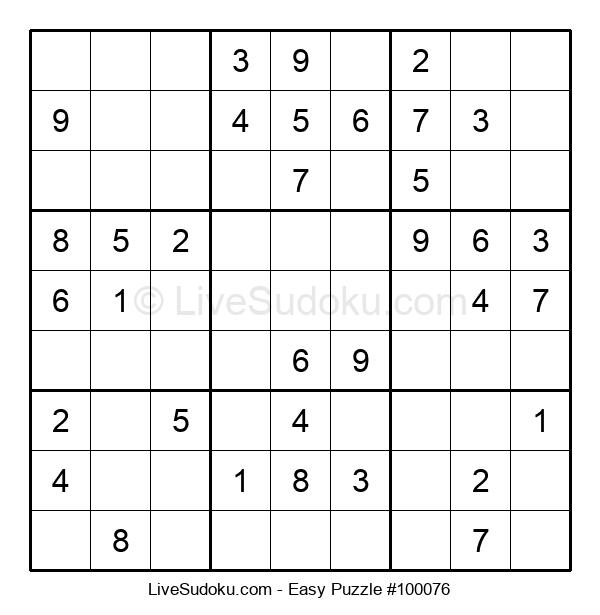 Beginners Puzzle #100076