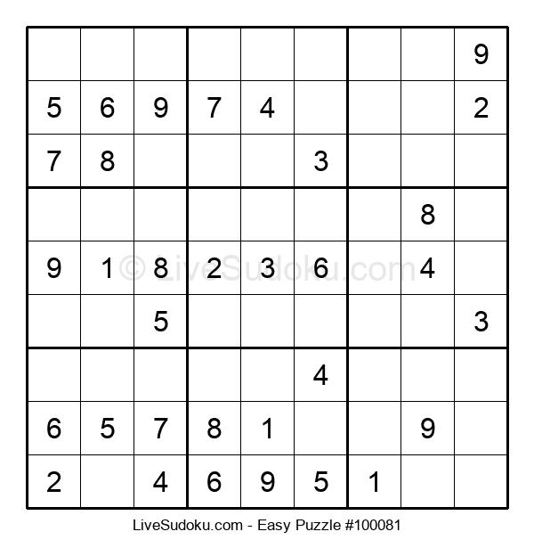Beginners Puzzle #100081