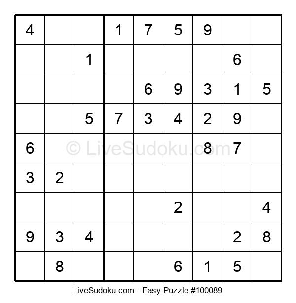 Beginners Puzzle #100089