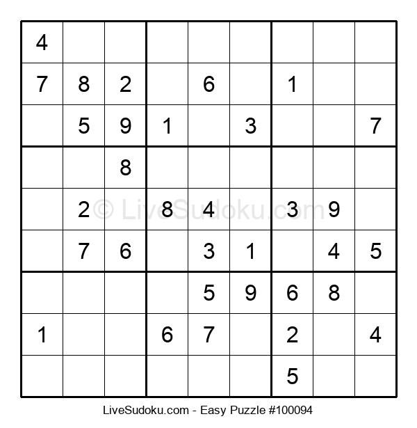 Beginners Puzzle #100094