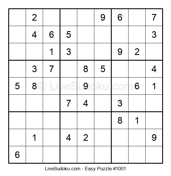Beginners Puzzle #1001