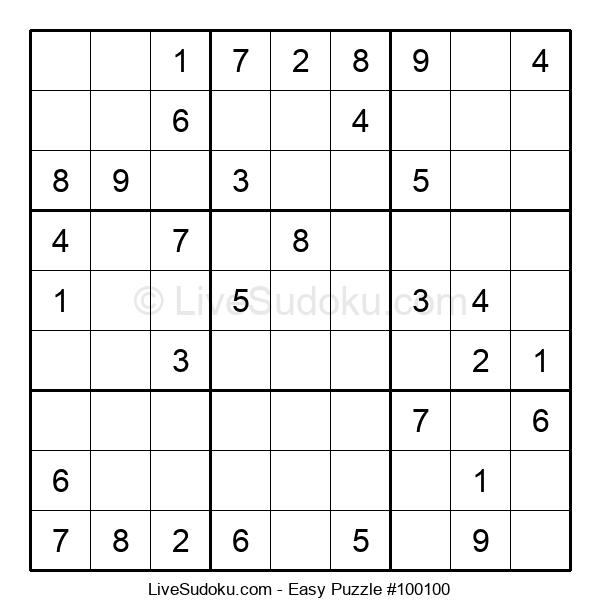 Beginners Puzzle #100100