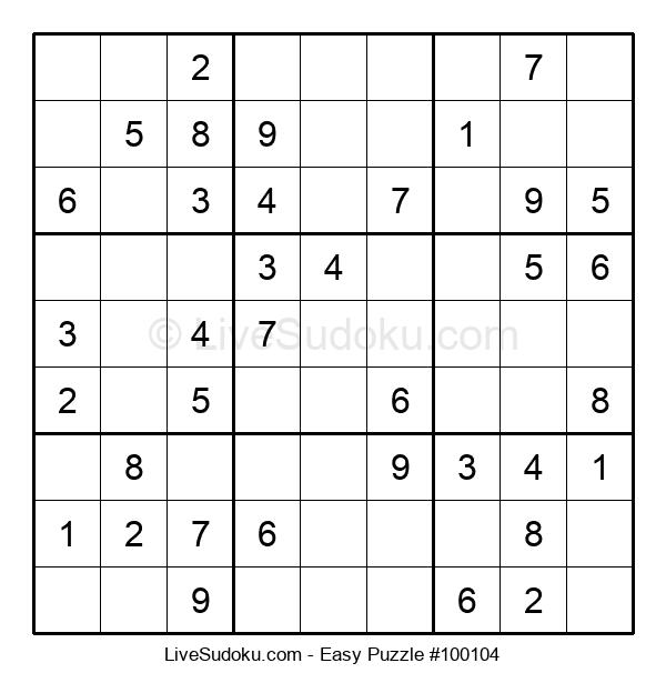 Beginners Puzzle #100104