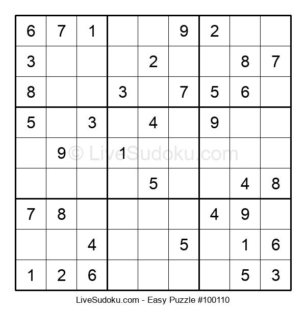 Beginners Puzzle #100110