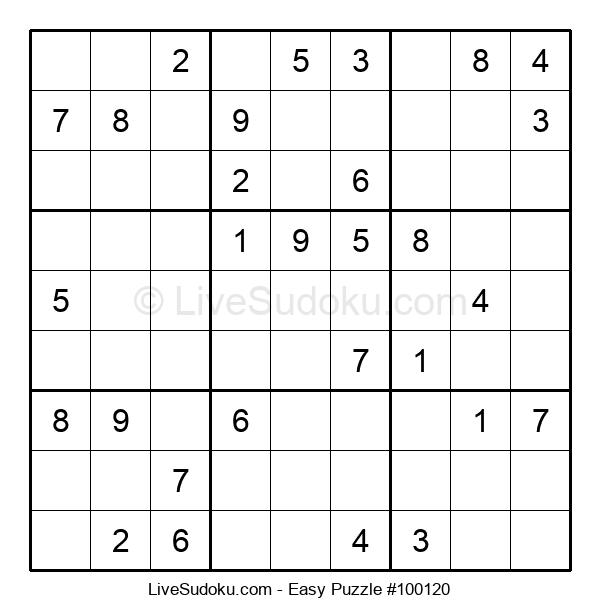 Beginners Puzzle #100120