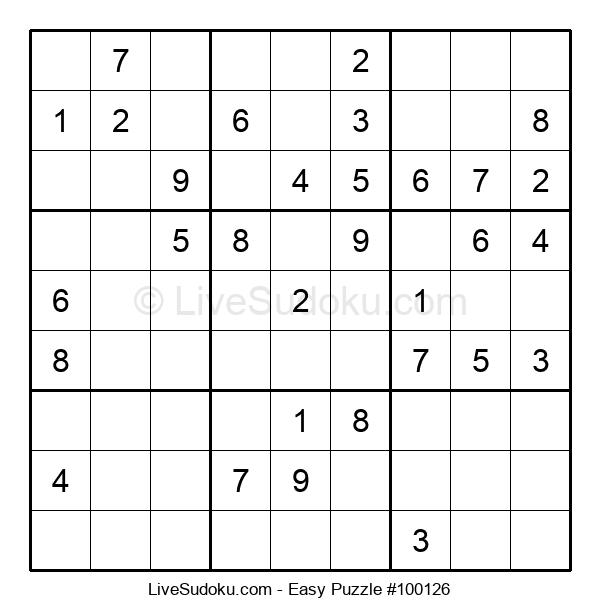 Beginners Puzzle #100126