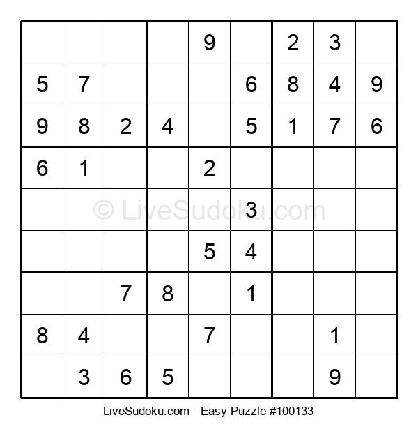 Beginners Puzzle #100133