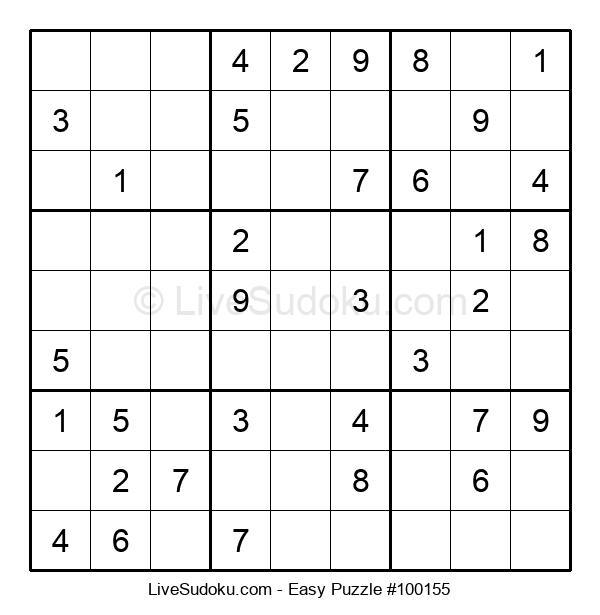 Beginners Puzzle #100155
