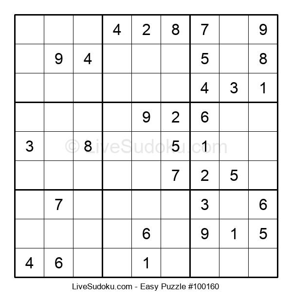 Beginners Puzzle #100160