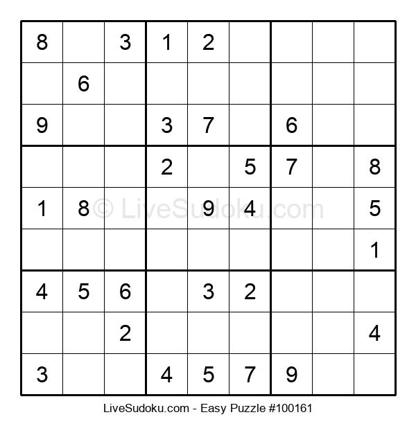 Beginners Puzzle #100161