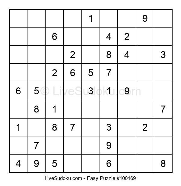 Beginners Puzzle #100169