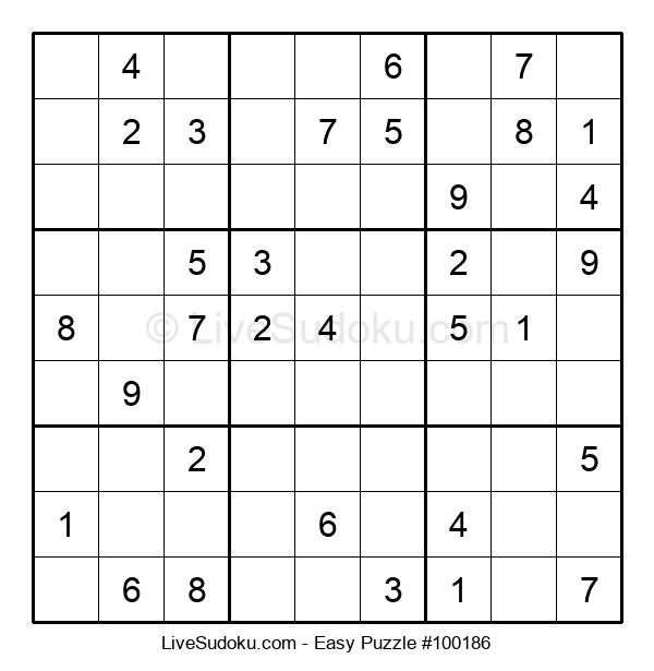 Beginners Puzzle #100186