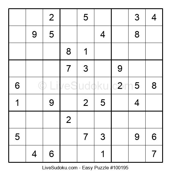 Beginners Puzzle #100195