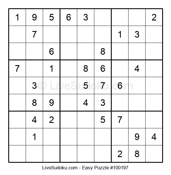 Beginners Puzzle #100197