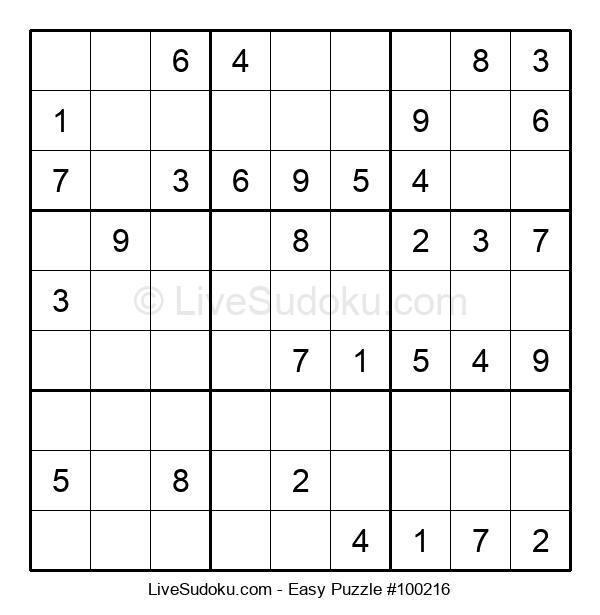 Beginners Puzzle #100216