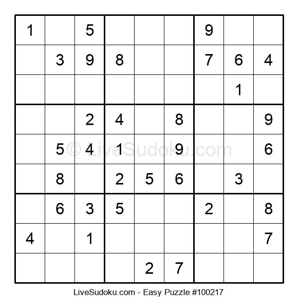 Beginners Puzzle #100217