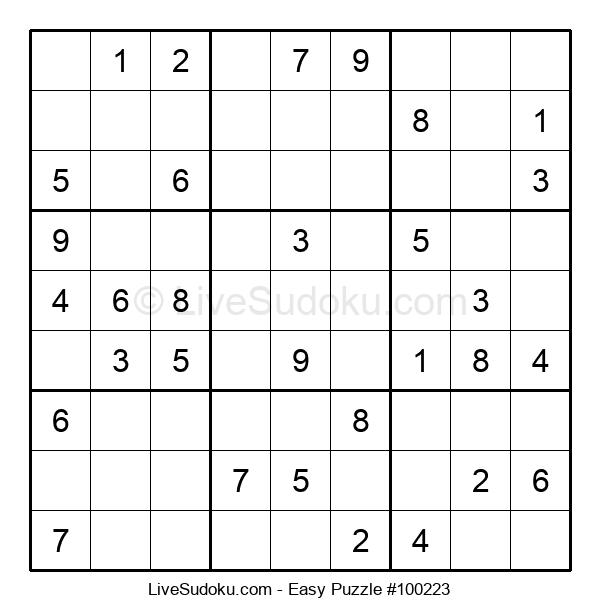 Beginners Puzzle #100223